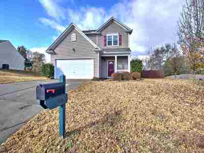 Simpsonville Single Family Home For Sale: 504 Kingfisher Drive