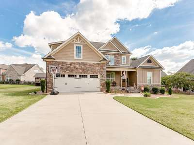 Inman Single Family Home For Sale: 608 Belle Terre