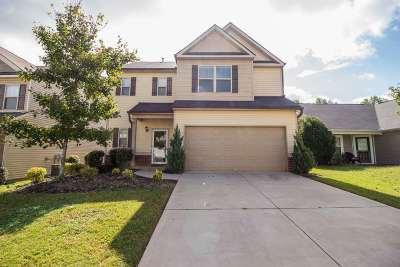 Simpsonville Single Family Home For Sale: 314 Barrett Chase Dr