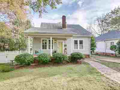 Spartanburg Single Family Home For Sale: 617 Woodland St