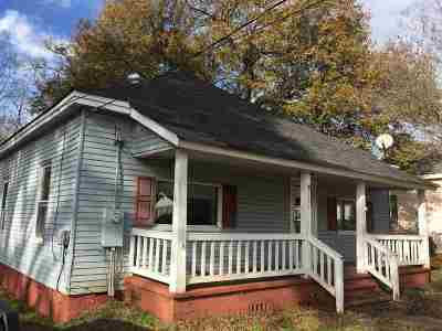 Spartanburg Single Family Home For Sale: 191 Spring Street