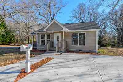 Woodruff Single Family Home For Sale: W 345 Peachtree Street
