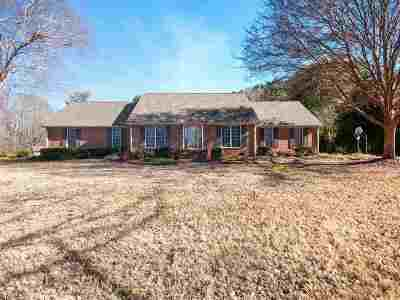 Spartanburg Single Family Home For Sale: 1215 Shadowood Drive