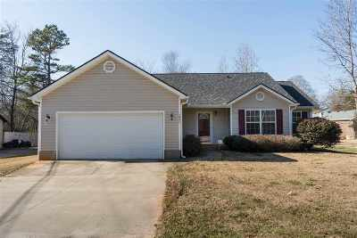 Greer Single Family Home For Sale: 1843 Hudson Road