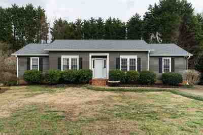 Greer Single Family Home For Sale: 109 Dawes Drive