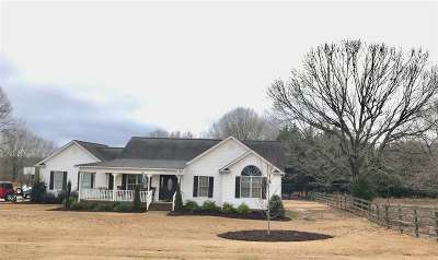 Duncan Single Family Home For Sale: E 612 Victor Hill Rd