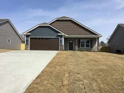 Duncan Single Family Home For Sale: N 123 Lakeview Drive