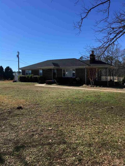 Piedmont Single Family Home For Sale: 111 Hollywood Dr