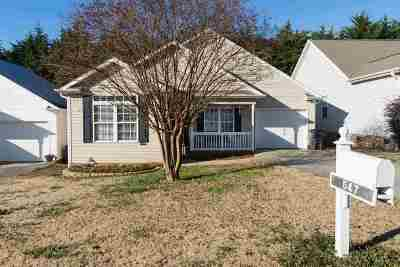 Inman Single Family Home For Sale: 547 Franklin Asberry Lane