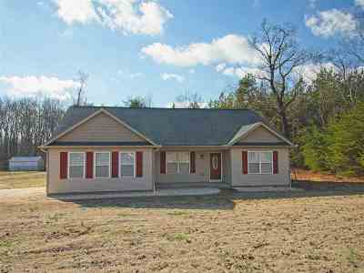 Inman Single Family Home For Sale: 3685 New Cut Road