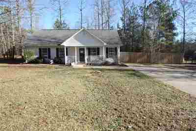 Woodruff Single Family Home For Sale: 109 Old Timber Road