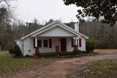Taylors Single Family Home For Sale: Camp Creek Road
