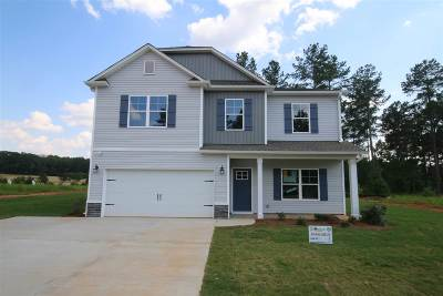 Inman Single Family Home For Sale: 607 Autumn Breeze Walk Lot 40