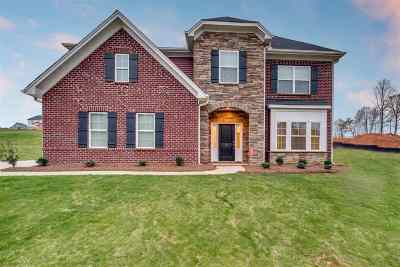 Inman Single Family Home For Sale: 171 Rushing Waters Drive - Lot 101