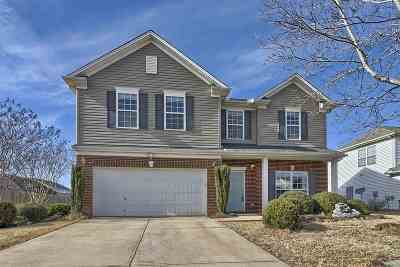 Duncan Single Family Home For Sale: 711 Thistlewood Dr.