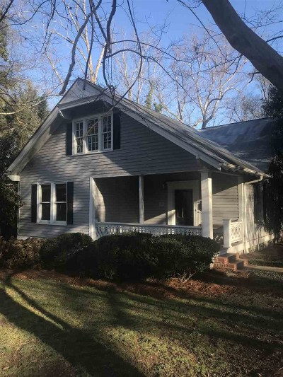 Spartanburg Single Family Home For Sale: 145 Ivy Street