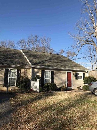 Spartanburg Single Family Home For Sale: 321 Farnsworth Road