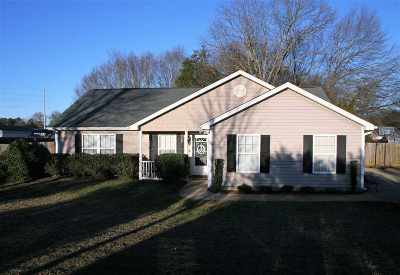 Inman Single Family Home For Sale: 3470 New Cut Road