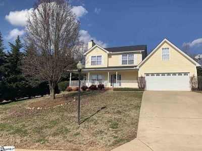 Greer Single Family Home For Sale: 804 Canton Ct