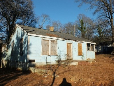 Spartanburg Single Family Home For Sale: 1576 Farley Avenue Extention