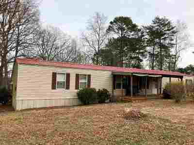 Easley Mobile Home For Sale: 720 Turner Hill Rd