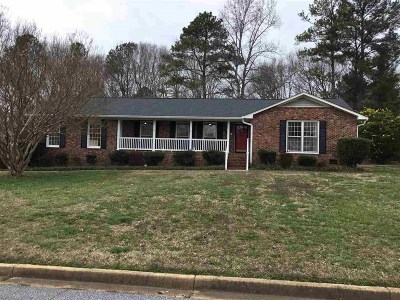 Spartanburg Single Family Home For Sale: 628 Stafford Drive