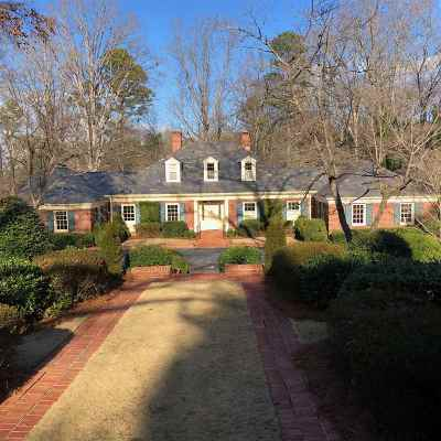 Spartanburg Single Family Home For Sale: 1140 Partridge Rd