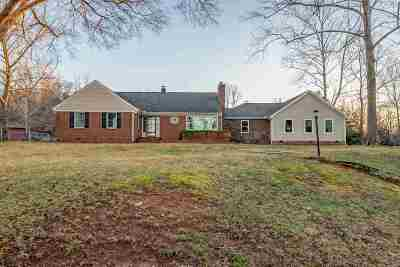 Woodruff Single Family Home For Sale: 1809 Fountain Inn Road