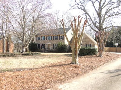 Spartanburg Single Family Home For Sale: 273 Creekridge Drive