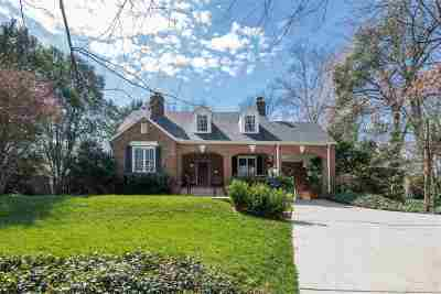 Spartanburg Single Family Home For Sale: 520 Sherwood Circle