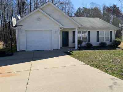 Inman Single Family Home For Sale: 572 Pleasant Green Dr