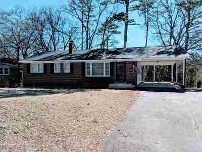Spartanburg Single Family Home For Sale: 746 Greenhill Road