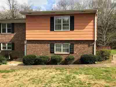 Spartanburg Condo/Townhouse For Sale: 7 Summercreek Drive