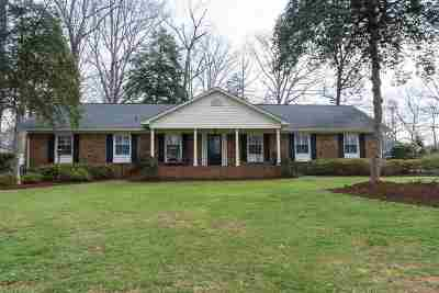 Spartanburg Single Family Home For Sale: 695 Perrin Drive