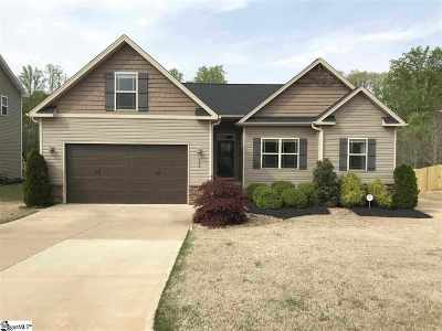 Spartanburg Single Family Home For Sale: 296 Autumn Glen