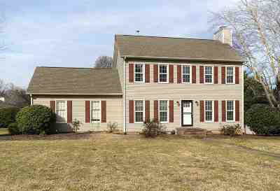 Moore Single Family Home For Sale: 101 Jamestown Court