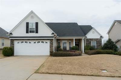 Spartanburg Single Family Home For Sale: 281 Wycliff Drive