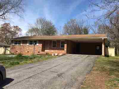 Spartanburg Single Family Home For Sale: 264 Foxhall Rd