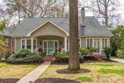 Spartanburg Single Family Home For Sale: 705 Otis Boulevard