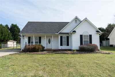 Moore Single Family Home For Sale: 521 Getsinger Lane