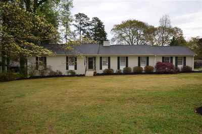 Spartanburg Single Family Home For Sale: 707 Fernwood Drive