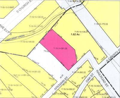 Spartanburg Residential Lots & Land For Sale: Arkmain Street, Lot #5