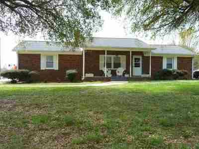 Inman Single Family Home For Sale: 5061 New Cut Rd