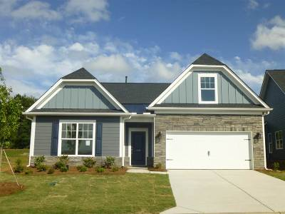 Duncan Single Family Home For Sale: 312 White Peach Way, Lot 3