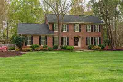 Spartanburg Single Family Home For Sale: 184 Woodridge Drive