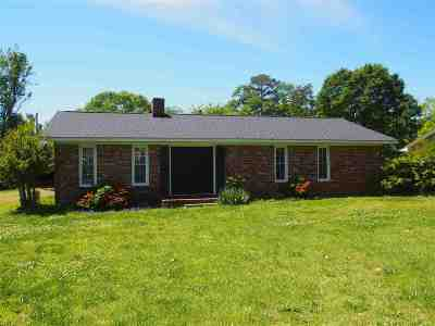 Duncan Single Family Home For Sale: 110 Edgewood Dr