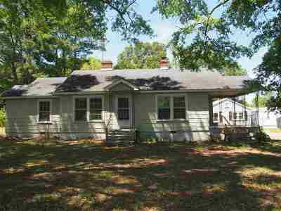 Single Family Home For Sale: 160 Spartanburg Rd