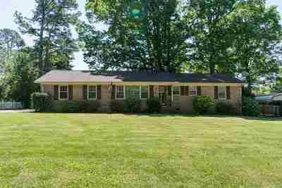 Greenville Single Family Home For Sale: 514 Mapleton Drive
