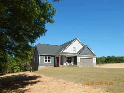 Duncan Single Family Home For Sale: W 220 Lakeview Drive