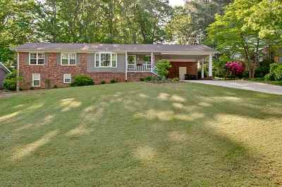 Greer Single Family Home For Sale: 212 Laurel Road